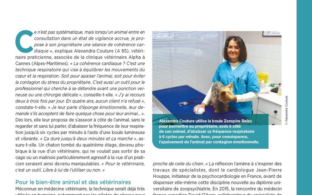 ZENSPIRE et cohérence cardiaque en pratique vétérinaire