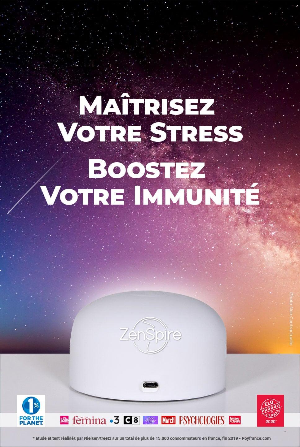 Zenspire, maîtrisez votre stress et boostez votre immunité